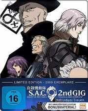 Ghost in the Shell - Stand Alone Complex 02 - Individual Eleven - Limited FuturePak