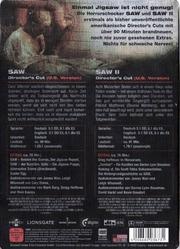 Saw II (Director's Cut (U.S. Version))