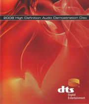 DTS 2008 High Definition Audio Demonstration Disc